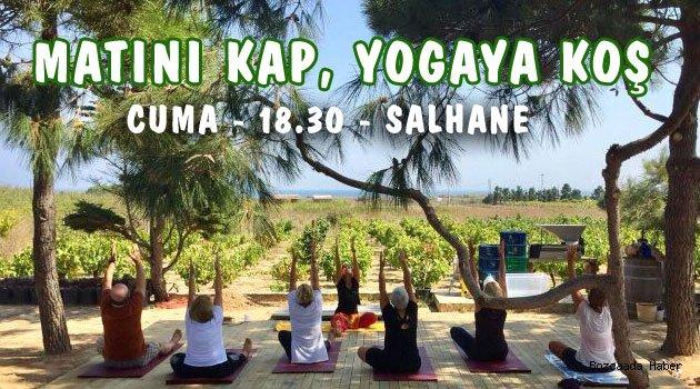 Yogacılardan Cuma günü Salhane'ye davet