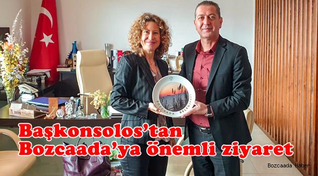 Yunan adaları ile Bozcaada arasındaki ulaşım ağı için önemli görüşme