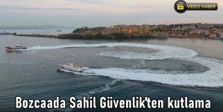 Bozcaada Sahil Güvenlik'ten kutlama
